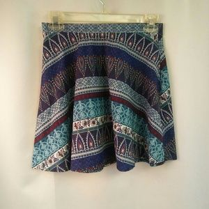 LA Hearts Soft Microfiber Skater Skirt, S